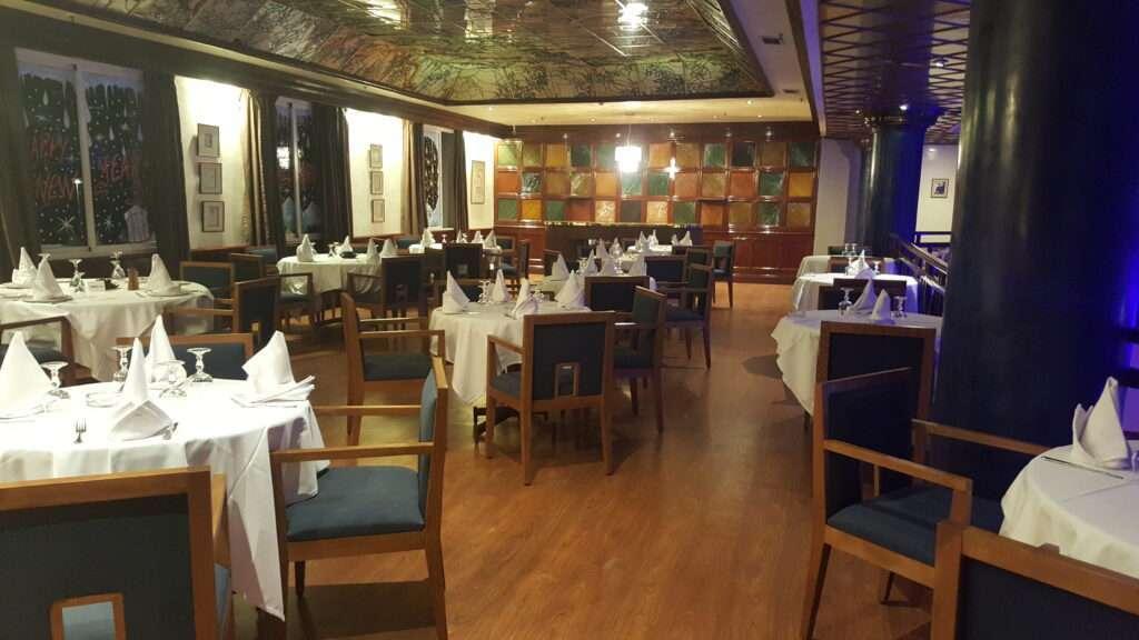 Restaurant Jean Cocteau, Shem's casino Agadir.