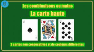 Combinaison carte haute shem's casino Agadir