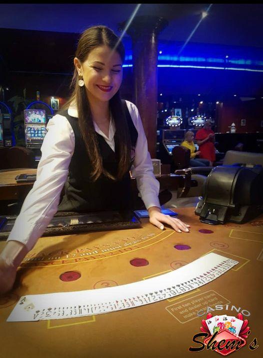 croupière blackjack